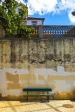 Стенд города Фуншала стоковое изображение