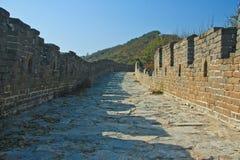 Стен-дорога Великая Китайская Стена фарфора Стоковая Фотография RF