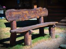 стенд деревянный Стоковые Изображения