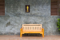 стенд деревянный Стоковые Изображения RF