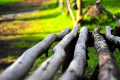 стенд деревянный Стоковые Фотографии RF