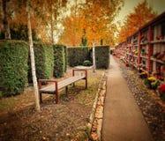 Стенд на кладбище Стоковые Фото