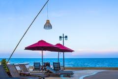 Стенд на пляже Стоковая Фотография