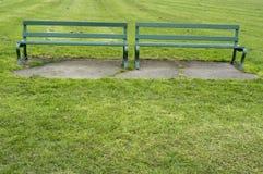 Стенд парка в осени Стоковые Фотографии RF