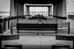 Стенд смертной казни через повешение на доке Стоковое Фото