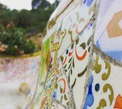 Стенд флигеля ¼ Parc GÃ в Барселоне Стоковое фото RF