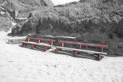 Стенды взморья Ballybunion и смещения песка Стоковое Изображение RF