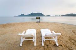 Стенды на пляже Стоковые Фото