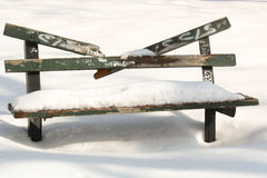 Стенд Snowy Стоковые Фотографии RF