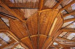 Степень последствий деревянной сени интересная Стоковые Фото