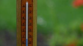 Степень температуры поднимая акции видеоматериалы