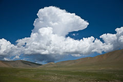 степи Азии центральные Монголии Стоковое Фото