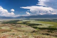 Степь горы Стоковые Фотографии RF