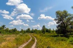 степь Украина дороги Крыма стоковая фотография rf