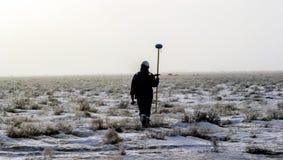 Степь южный Казахстан Betpakdala Стоковое фото RF