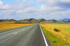 степь khakassia холмов Стоковое Изображение