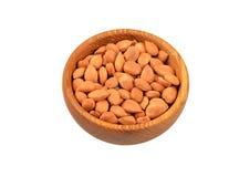 Стержень высушенного абрикоса в блюде Стоковые Фотографии RF