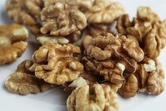 Стержень грецкого ореха на таблице Стоковое Изображение