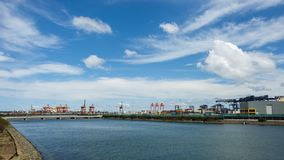 Стержень доставки контейнера, Сидней, Австралия Стоковое Фото