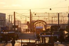 Стержень железной дороги Kiyevsky Стоковые Фото