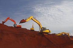 Стержень железной руд руды стоковые фотографии rf