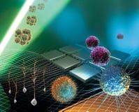 стержень исследования клетки Стоковые Фото