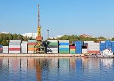 стержень контейнера Стоковые Изображения
