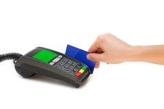 Стержень кредитной карточки Стоковые Фото