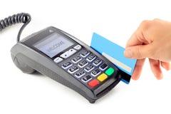 Стержень кредитной карточки Стоковая Фотография