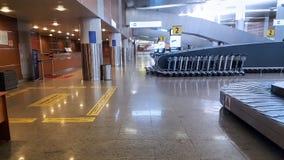 Стержень международного аэропорта, интерьер, отсутствие людей Стоковая Фотография