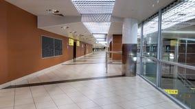 Стержень международного аэропорта, интерьер, отсутствие людей Стоковые Фото