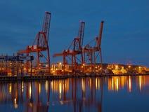 стержень ночи контейнера Стоковые Изображения RF