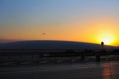 стержень третье станции Пекин авиапорта курьерский Стоковые Изображения
