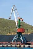 Стержень угля на русском Владивостоке Стоковые Фотографии RF