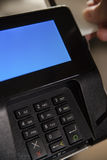 Стержень EFT оплаты с настоящим моментом карточки Стоковые Изображения RF