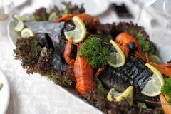 стерляжина crayfishes Стоковое Фото