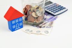 Стерлинговое финансирование недвижимости Стоковые Фотографии RF