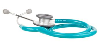 стетоскоп здоровья внимательности Стоковые Изображения