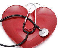 стетоскоп сердца Стоковые Изображения RF