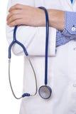 Стетоскоп удерживания доктора Стоковая Фотография RF
