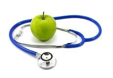 стетоскоп яблока стоковые фото