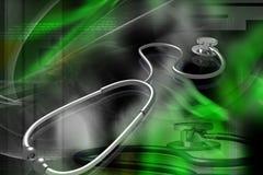 стетоскоп Бесплатная Иллюстрация