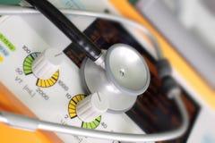 Стетоскоп. стоковая фотография rf