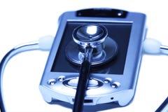 стетоскоп Стоковая Фотография