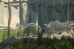 Стечение, Лион, rhone, Франция стоковое изображение