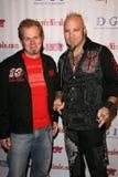 Стив Mccabe и Elvis странный   Стоковое Изображение