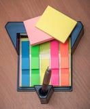 Стикеры и ручка стойки Стоковое Изображение