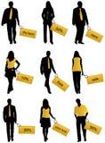 стикеры людей Стоковое Изображение RF