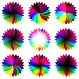 Стикеры радуги Стоковая Фотография RF