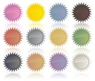 стикеры сбывания изображения маркируют вектор Стоковые Изображения RF